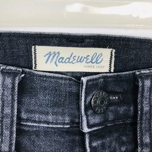 "MADEWELL 10"" High Rise Skinny Skinny Jeans Size 24"